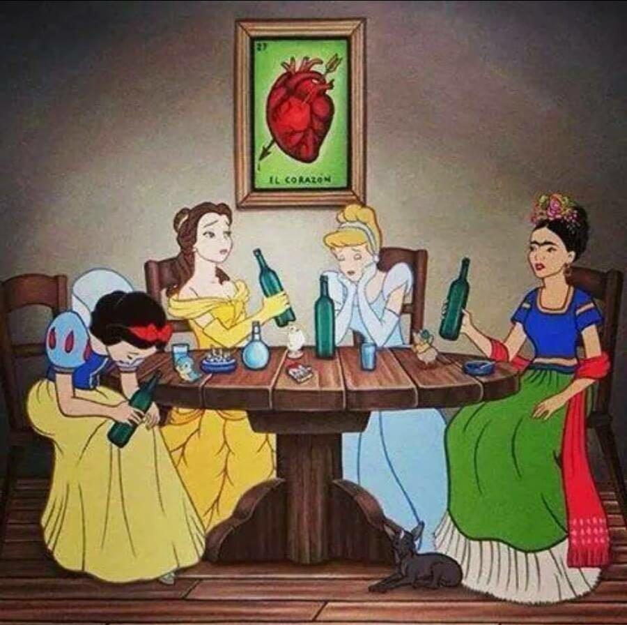How Disney girls are celebrating Valentine's day