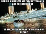 During a disaster…