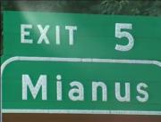 It's so big it has its own exit.