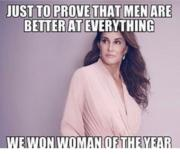 Just to prove that men are better at everything
