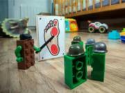 Lego army attack plan