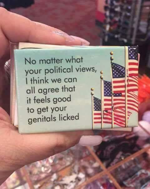 No matter what your political views …