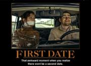 No second date…