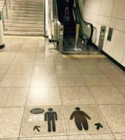 Subway station in Korea doesn't fuck around
