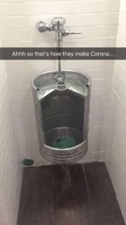 That's how they make Corona…