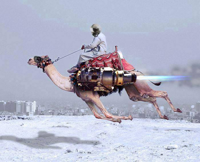 When magic carpets became obsolete