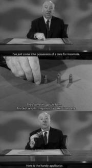 Alfred Hitchcock humour