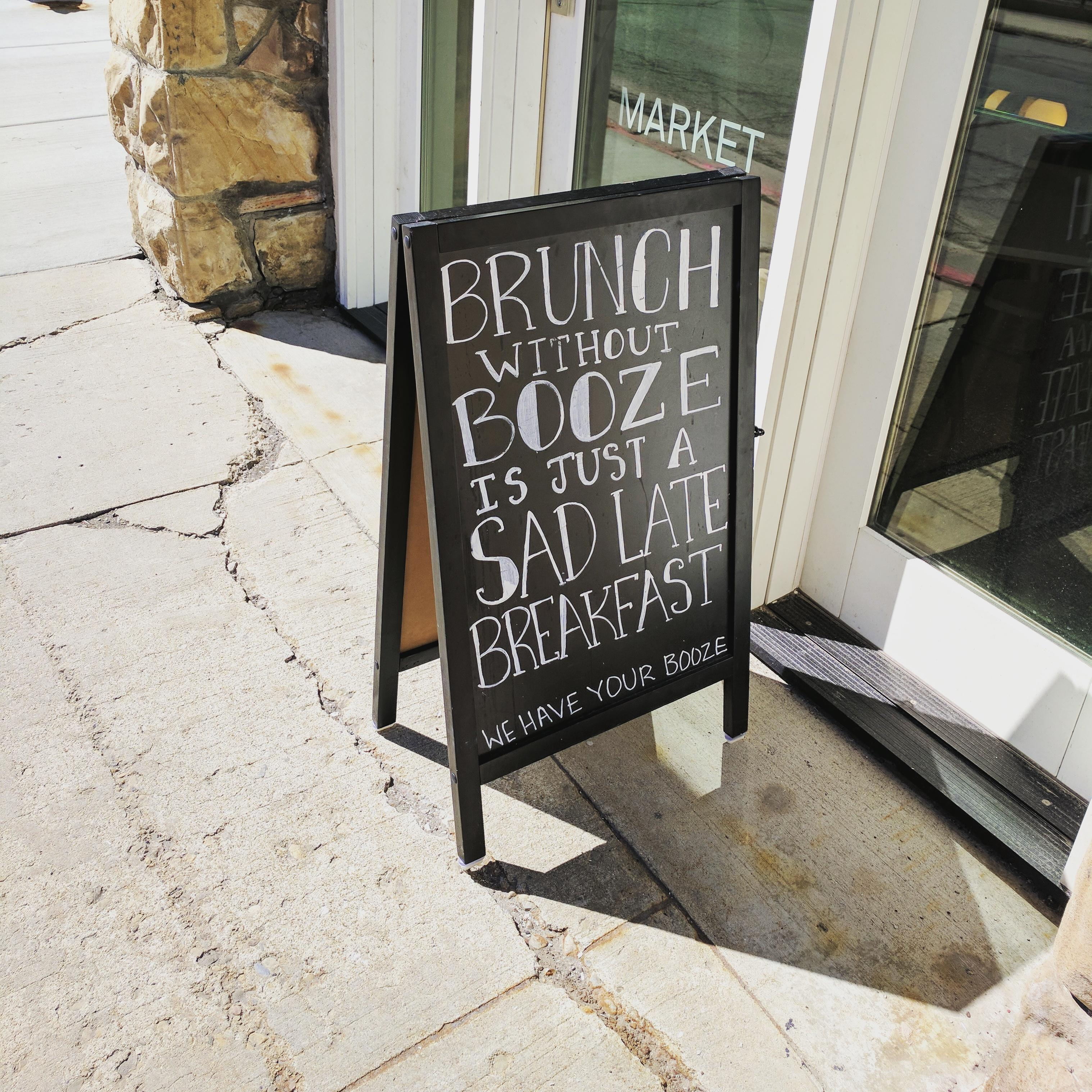 Brunch without booze…