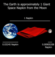 Giant Space Napkin