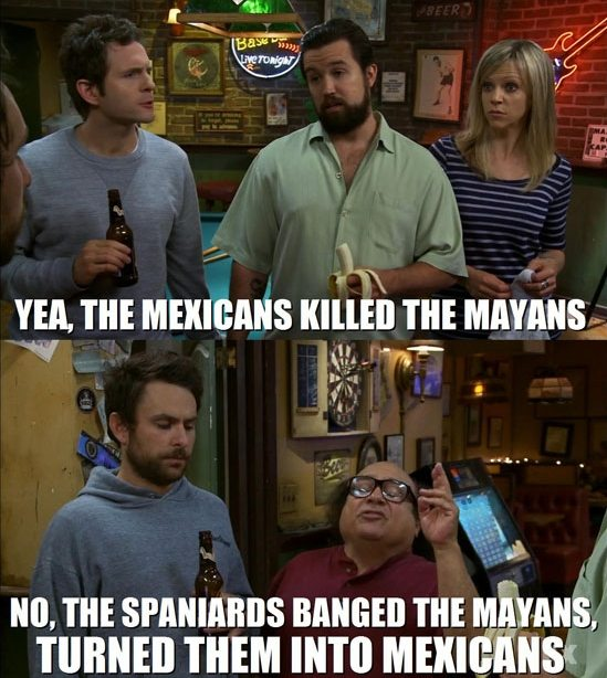 Mayans and Mexicans