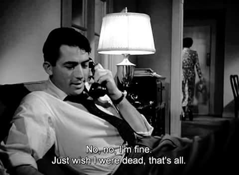 I'm fine…