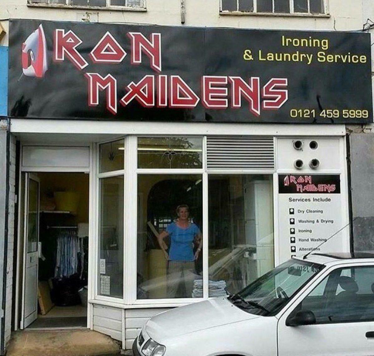 Iron Maiden side business