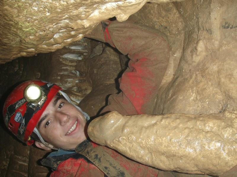 This phallic stalagmite