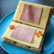 Nintendo sandwich – awesome geeky breakfast