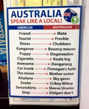 Speak like an Australian