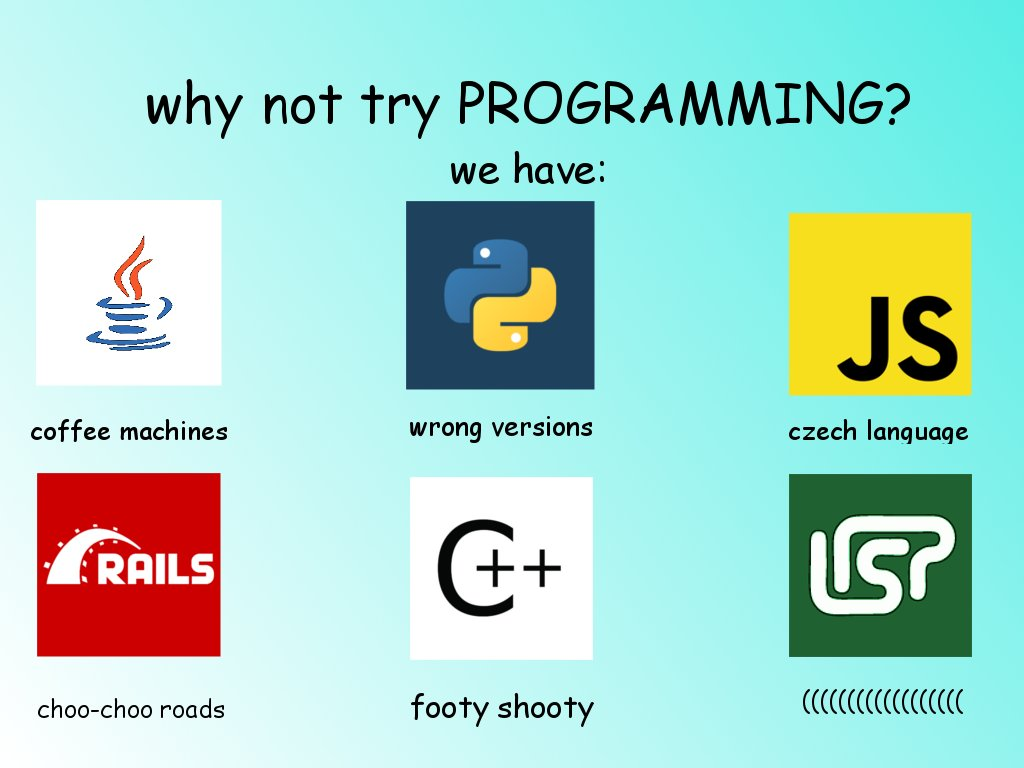 Why not try programming