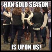 Han Solo season is upon us