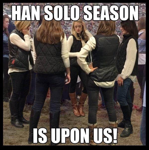 Han Solo season is upon us