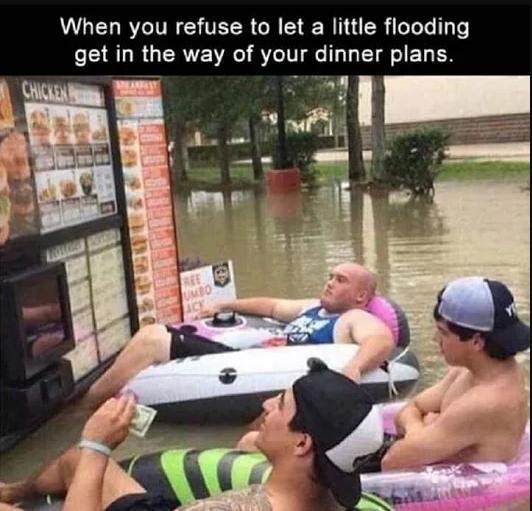 Little flooding