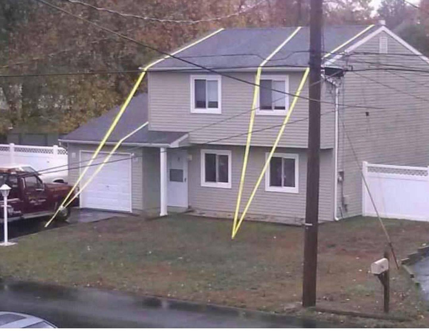 The neighbors are ready for Hurrican Irma.