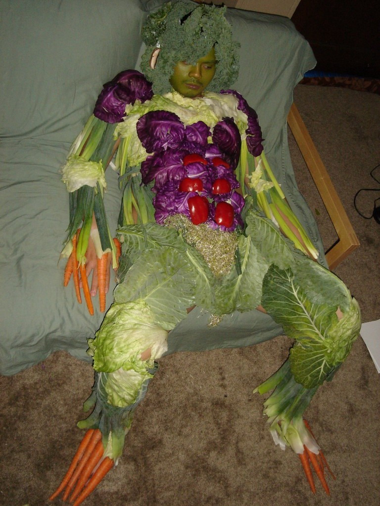 Veggie monster costume