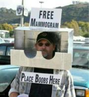 Free Mammogram! This guy is genius!