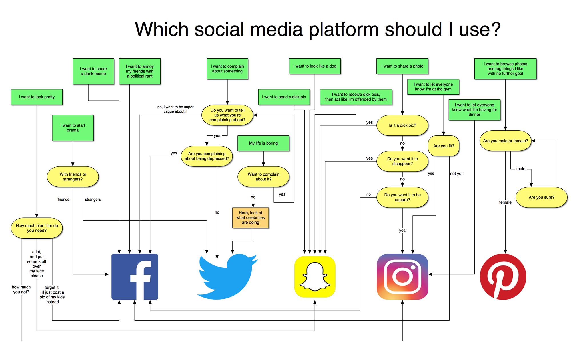 Which social media platform should I use?