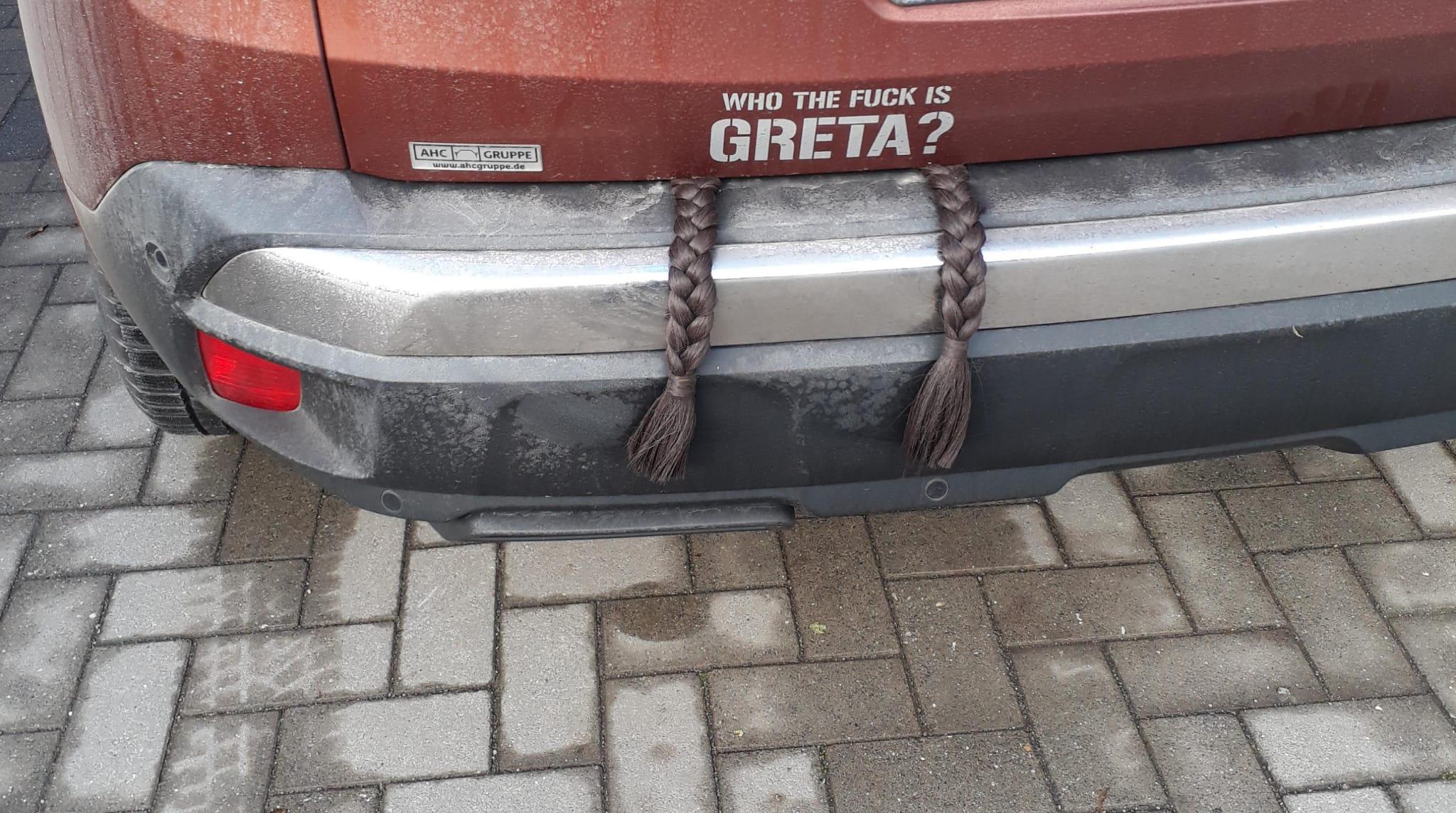 Who the fuck is Greta Thunberg?