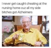 Cheating at the nursing home