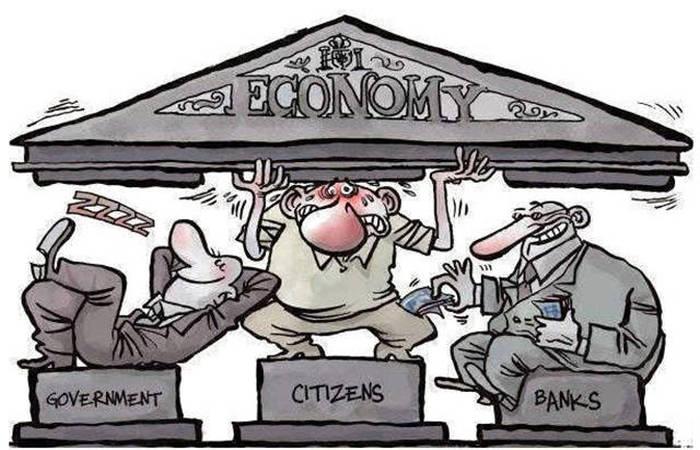 The Three Pillars of the US Economy