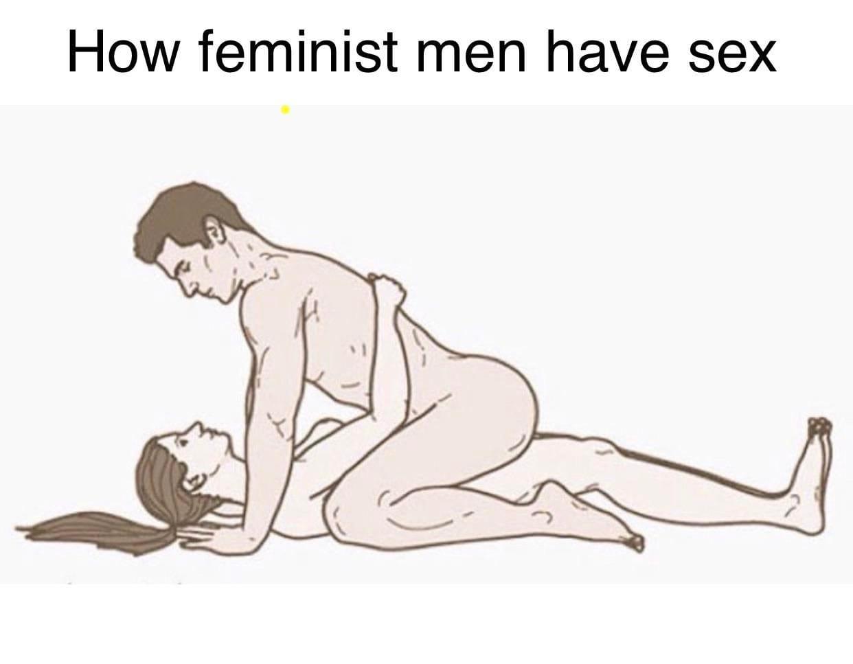 How feminist men have sex