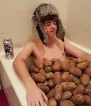 Potato bath