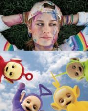 Rainbow bukkake by Teletubbies