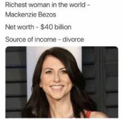 Successful, empowered woman. Checkmate bigots!