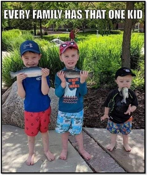 Every family has that one kid