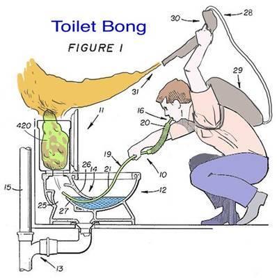 Toilet Bong