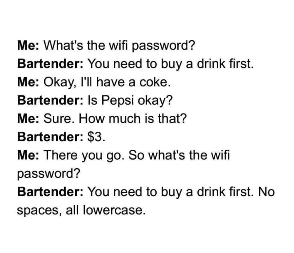 What's the Wifi password