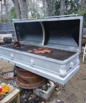 BBQ season is open