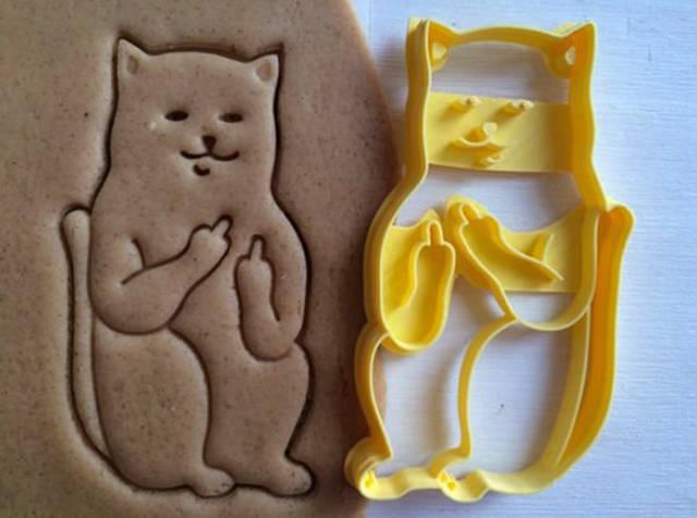 Fuck you cat cookies