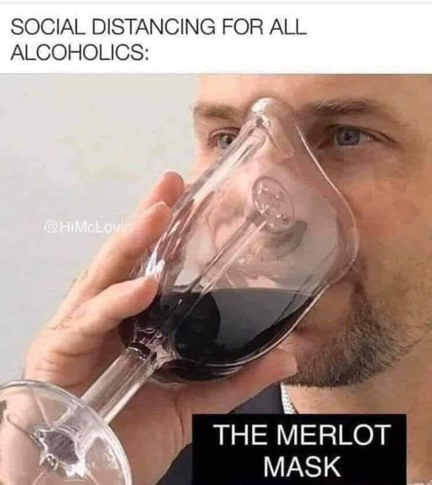 The Merlot Mask
