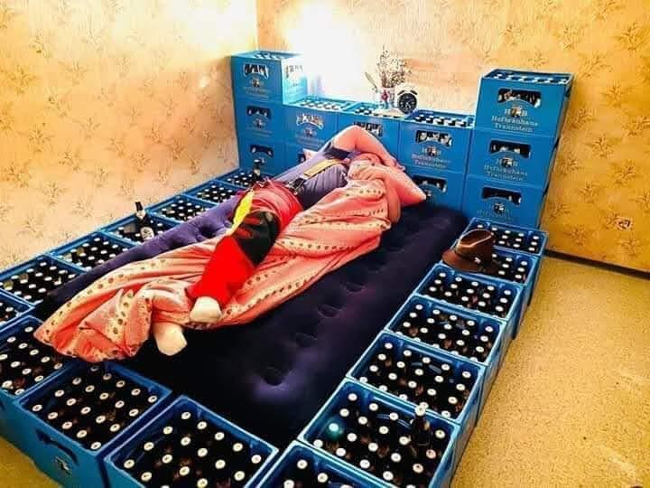 Dream beer bed