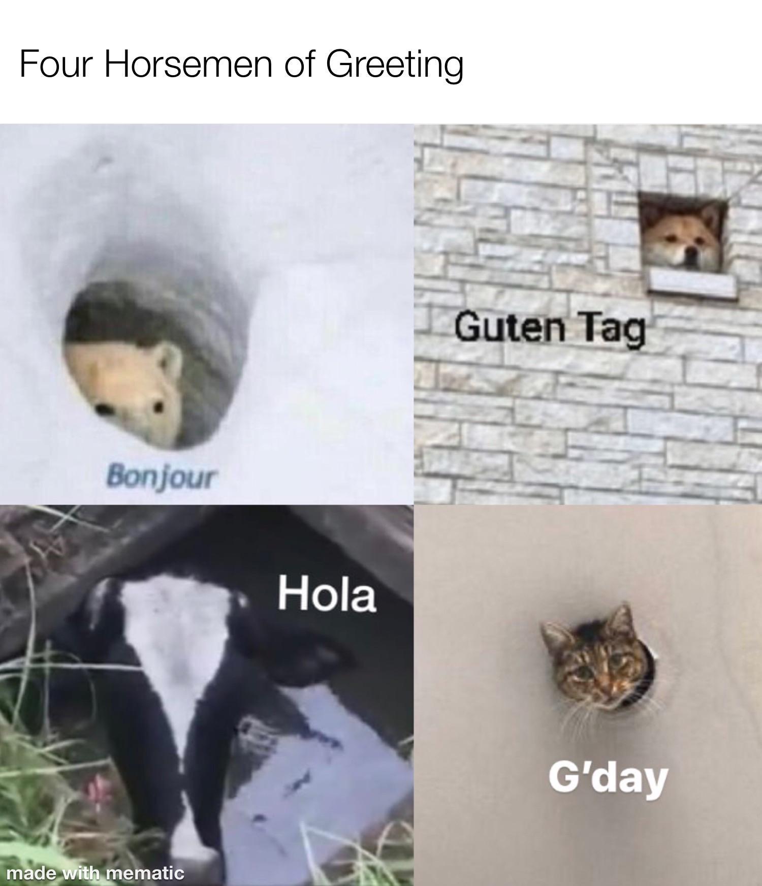 Four Horsemen of Greeting