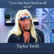 '2020 has been hard on all of us' – Taylor Swift