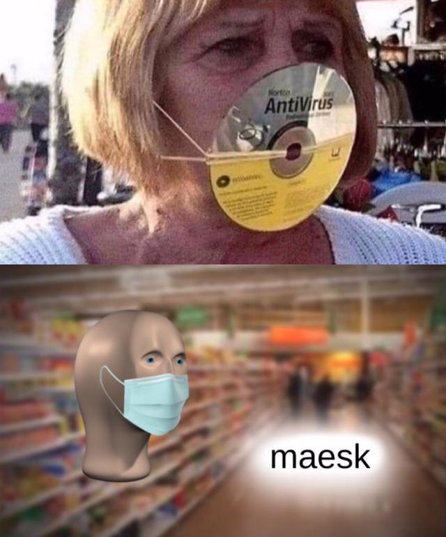 AntiVirus mask