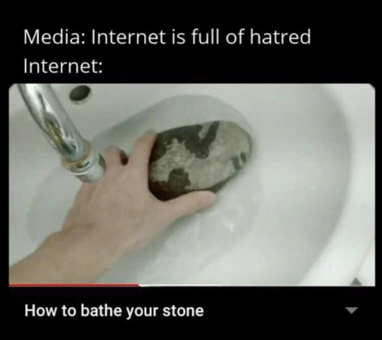 Internet is full of hatred