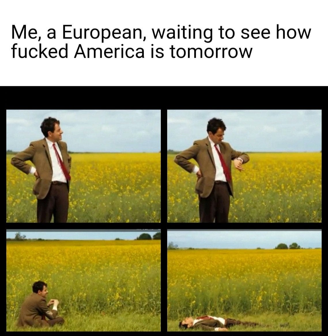 Waiting to see how fucked America is tomorrow.Presidential Election 2020