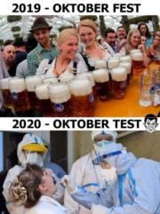 2019 October Fest vs 2020 October Test