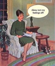Alexa, turn my feelings off
