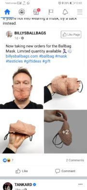Awesome Ballbag Mask