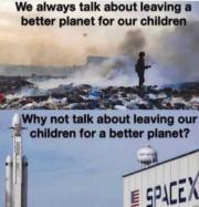 Leaving our children for a better planet